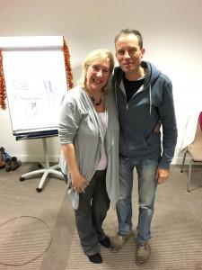 Marie Diamond met Wim Ampe
